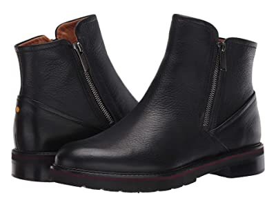 Samuel Hubbard City Zipper Chukka Boot (Black Tumbled) Women