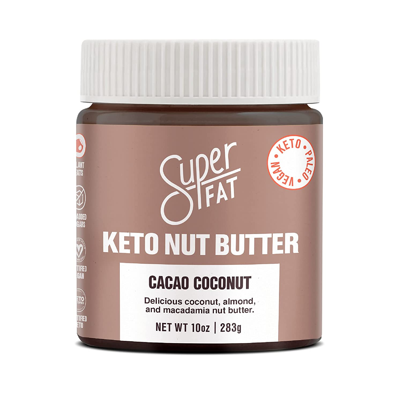 SuperFat Louisville-Jefferson County Mall 100% quality warranty Keto Nut Butter -Low Almond - Carb Macadamia