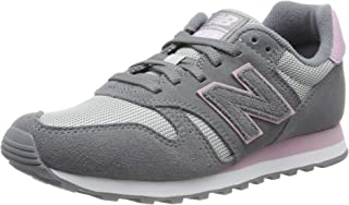 New Balance 373 Womens Grey/Pink Trainers