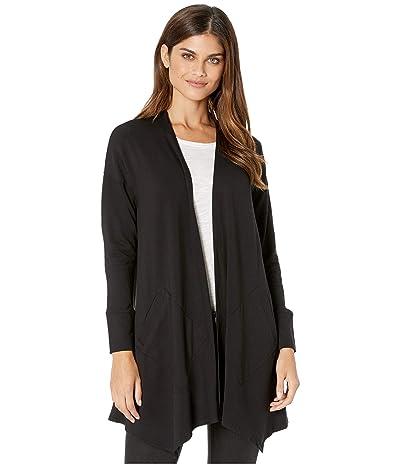 kensie Drapey Fleece Jacket KS9K2322 (Black) Women