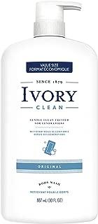 Ivory Clean Original Body Wash, 30 oz