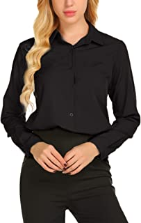 Best covered button blouse Reviews