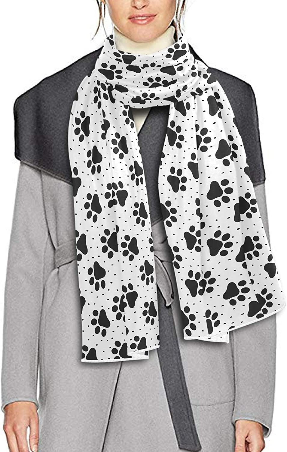 Scarf for Women and Men Pet Paw Animal Blanket Shawl Scarves Wraps Warm soft Winter Oversized Scarves Lightweight