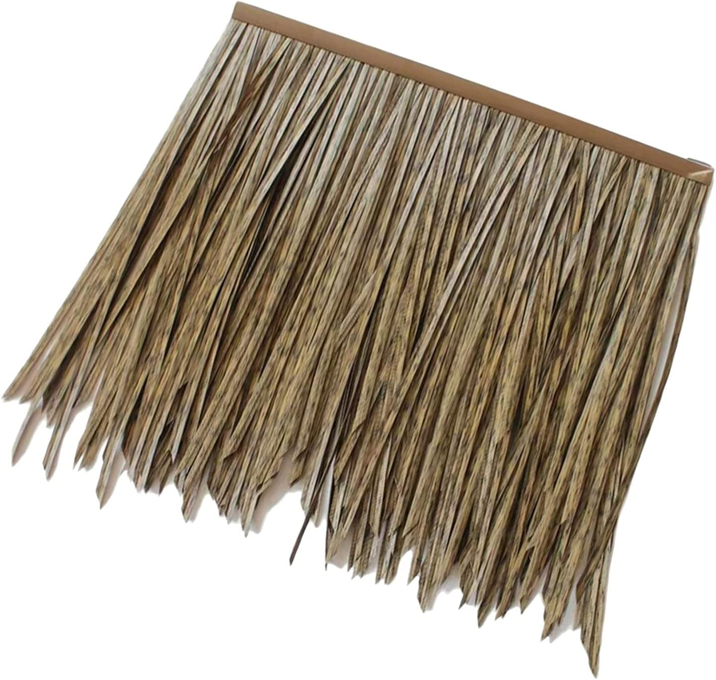 Artificial Thatch Tile Fake Straw PVC Omaha Finally resale start Mall PE Fur Plastic Umb