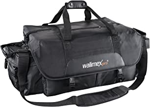 Walimex XXL photo and studio bag  incl  removable carry strap  variable dividers