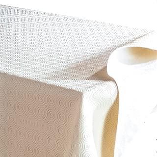 Tata Home copritavolo molleton pour table ronde 140/cm de diam/ètre fabriqu/é en italie