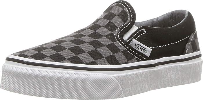 Vans U Classic Slip On Canvas Shoe Pewter