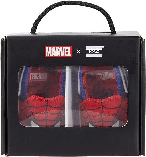 Red Marvel Spider Man Face Print