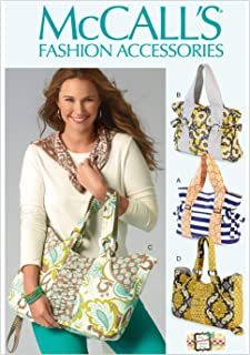 McCall's Patterns M6905OSZ Tote Bag Sewing Pattern, One Size Only