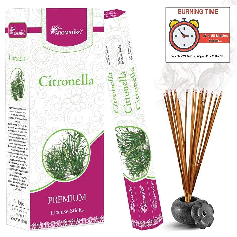 ミス出血服aromatikaシトロネラPerfume Incense Sticks ( Hexa )