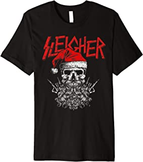 heavy metal christmas shirt
