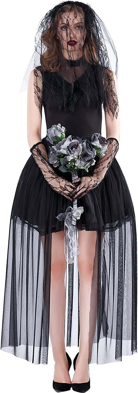wodceeke Halloween Witch Cosplay Costume Gothi Womens Women 35% OFF for 55% OFF