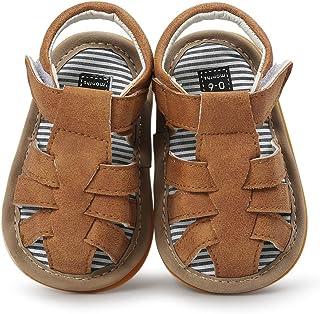 Baby Boys Summer Sandals Toddler Infant Girls Rubber Sole First Walker Shoes