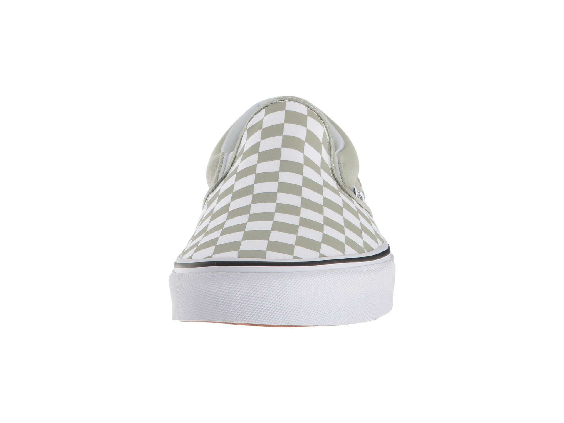 true Desert on™ White Classic Vans checkerboard Sage Slip wxBYnSqa