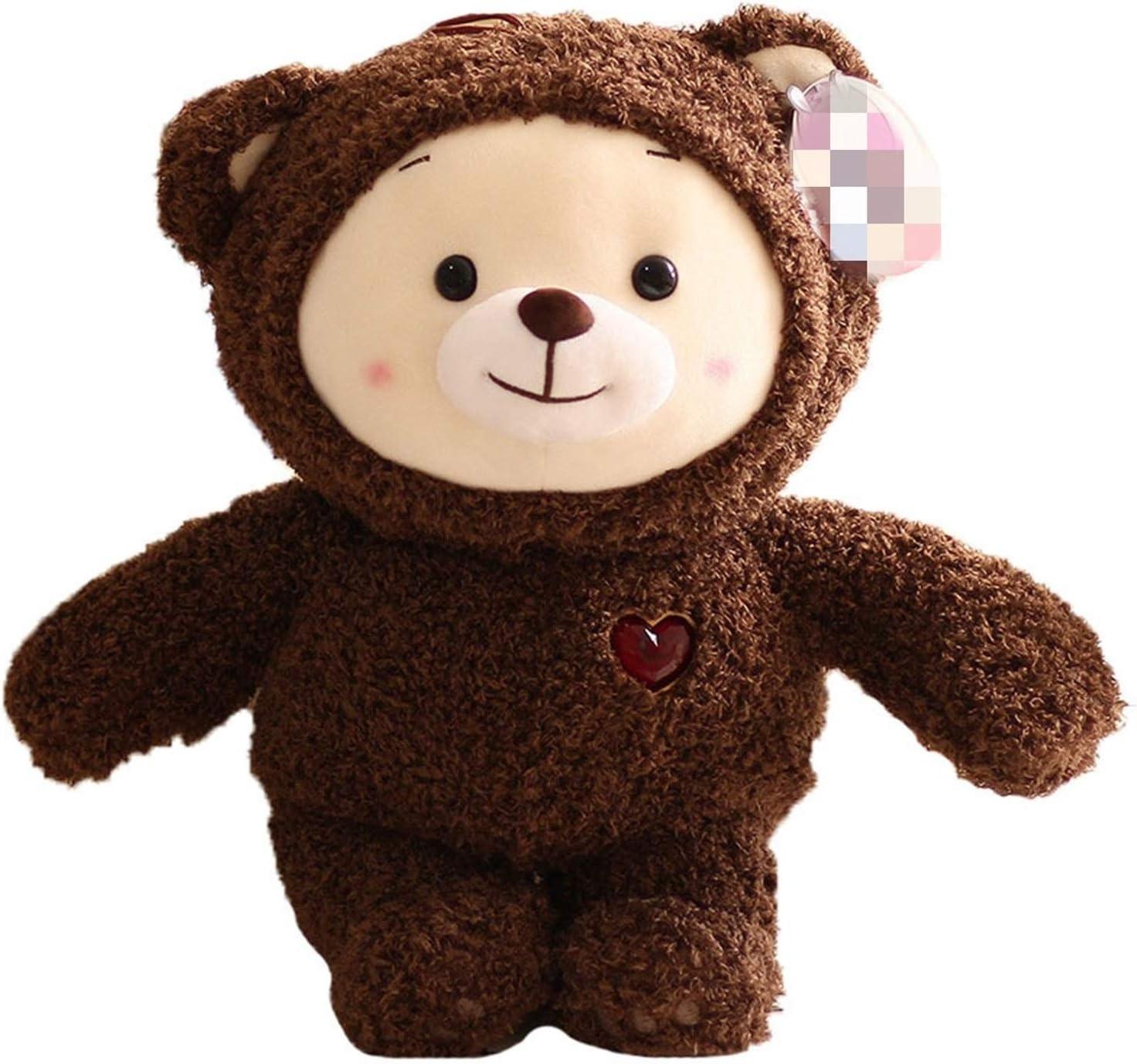 JUNMAIDZ Limited Milwaukee Mall time trial price Plush Toys 25cm Bear Stuffed Deer Carto Soft