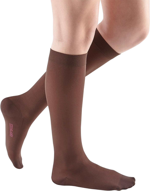 mediven 市場 Comfort 人気ブレゼント! for Women 30-40 mmHg Calf High Toe Closed C -