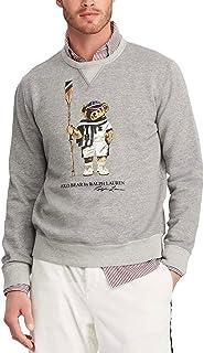 Ralph Lauren Polo Men's Fleece Bear Sweatshirt 2XB Navy Blue