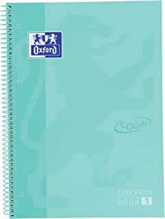 Oxford Cuaderno Microperforado Touch 80 hojas color Ice Mint Pastel