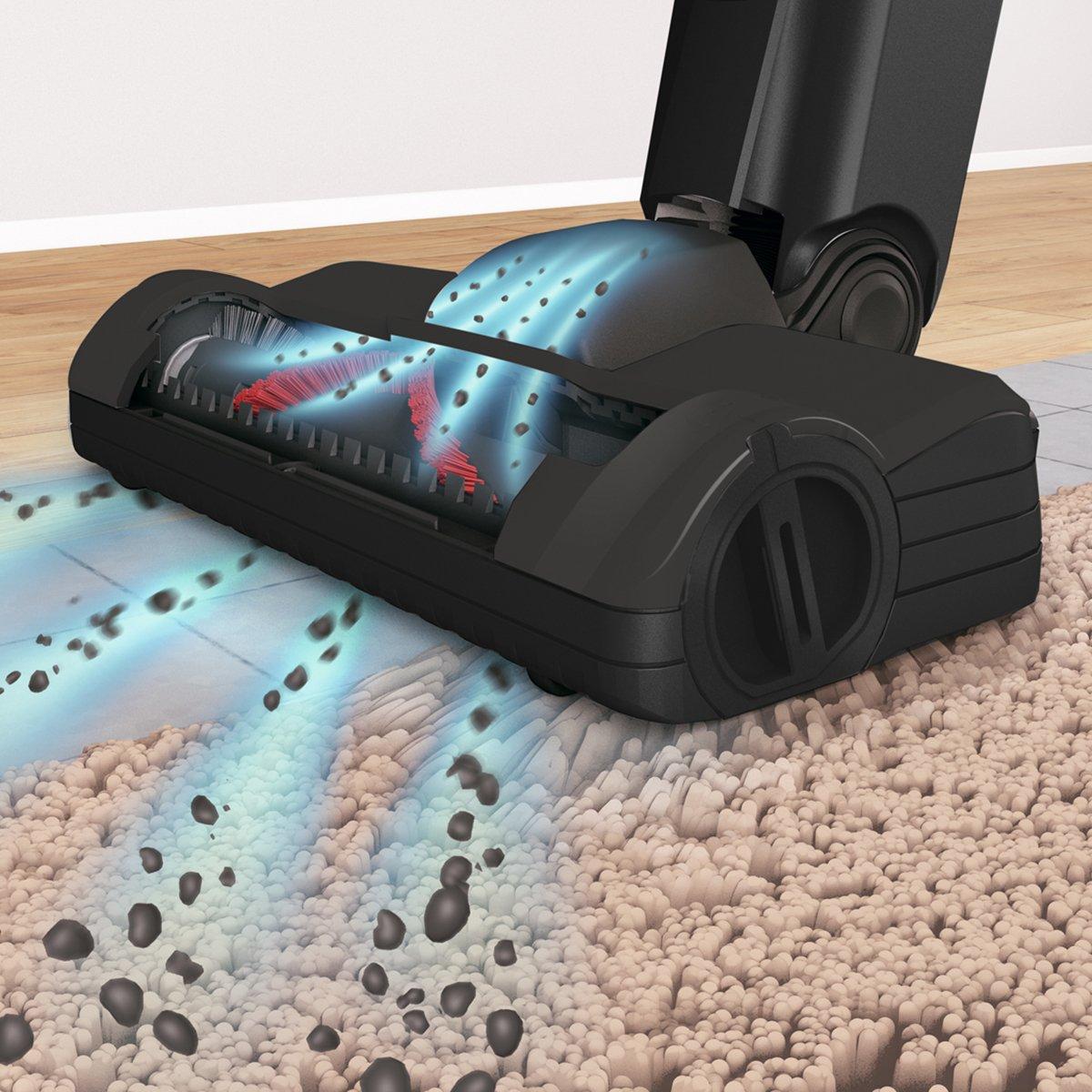 Bosch BBH6P25 aspiradora de pie y escoba eléctrica Sin bolsa Negro ...