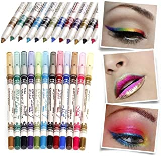 12 Colors Eye Make Up Eyeliner Pencil set of 12