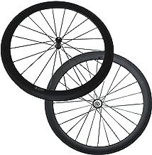 U Shape 50mm Clincher Carbon Road Bike Wheels Straight Pull R36 Ceramic Bearing hub 20.5/23/25mm Width