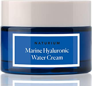 Marine Hyaluronic Acid Water Cream Skin Moisturizer to Hydrate, Moisturize, & Smooth Dry Skin by Naturium, 1.7 oz