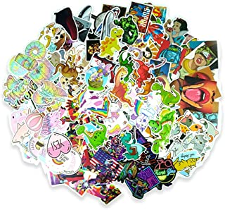 600 PCS Laptop Stickers Aesthetic Waterproof Vinyl Decals for Water Bottles, Skateboard, Computer, Luggage, Guitar - 12 Se...