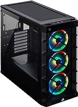 Corsair Icue 465X RGB Mid-Tower ATX Smart Case, Black