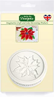 poinsettia silicone mould
