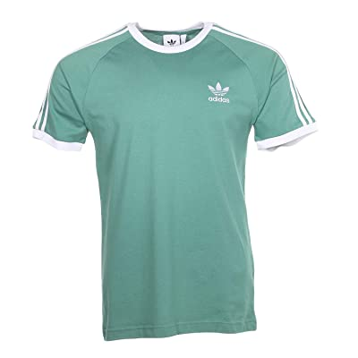 adidas Originals 3-Stripes Tee (Future Hydro) Men