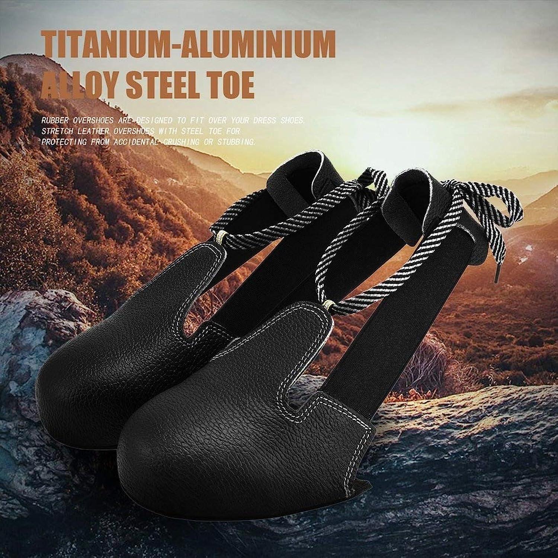 JNYUTECH Universal Anti-Smashing Slip-Resistant Unisex Steel Toe Safety schuhe Cover