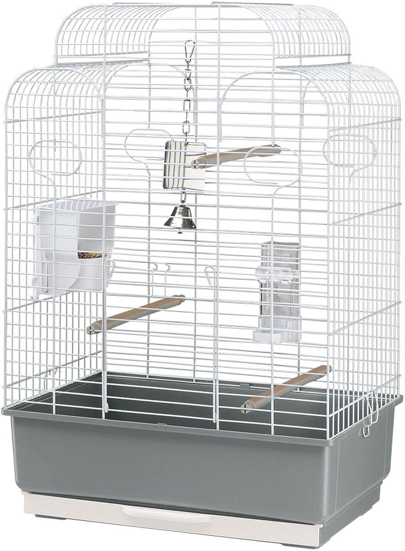 Ferplast Gala Birdcage, 50 x 30 x 75.5 cm, White
