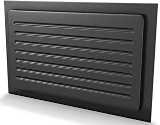 Crawl Space Vent Cover Outward Mounted - Black (13