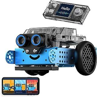 ربات برنامه نویسی Makeblock mBot Neo برای کودکان ، برنامه های Scratch و Python ، کیت ربات ساختمان فلزی ، WiFi ، IoT ، پشتیبانی فناوری AI