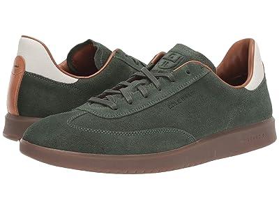 Cole Haan Grandpro Turf Sneaker (Dark Olive Green Suede) Men