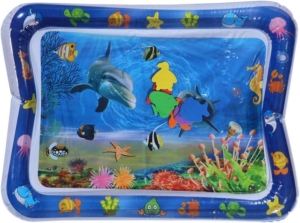 NUOBESTY Elegant Baby Seattle Mall Water Play Mat Shark World Ocean Inflatabl Pattern
