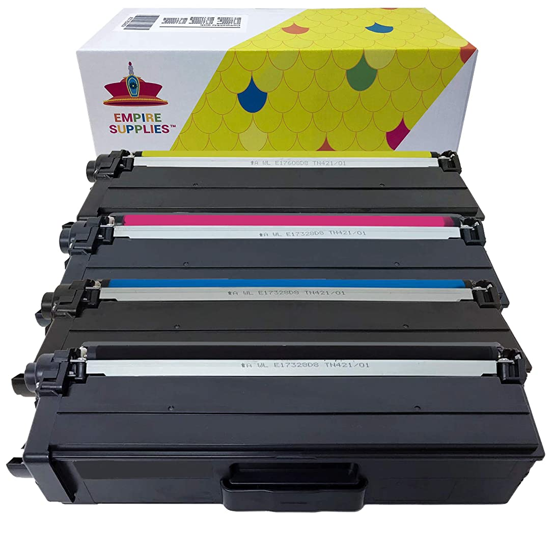 Empire Supplies Compatible Toner Cartridge Replacement for Brother TN336 TN-336 HL-L8250CDN HL-L8350CDW HL-L8350CDWT MFC-L8850CDW MFC-L8600CDW DCP-L8400CDN MFC-L8650CDW DCP-L8450CDW (4 Pack)