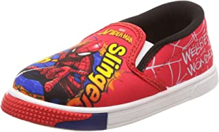 Spiderman Boy's Red/Black Indian Shoes - 10 Kids UK/India (28 EU)(STY-18-19-000888)