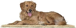 FurHaven Pet Dog Mat   Muddy Paws Towel & Shammy Rug, Sand (Tan), Large