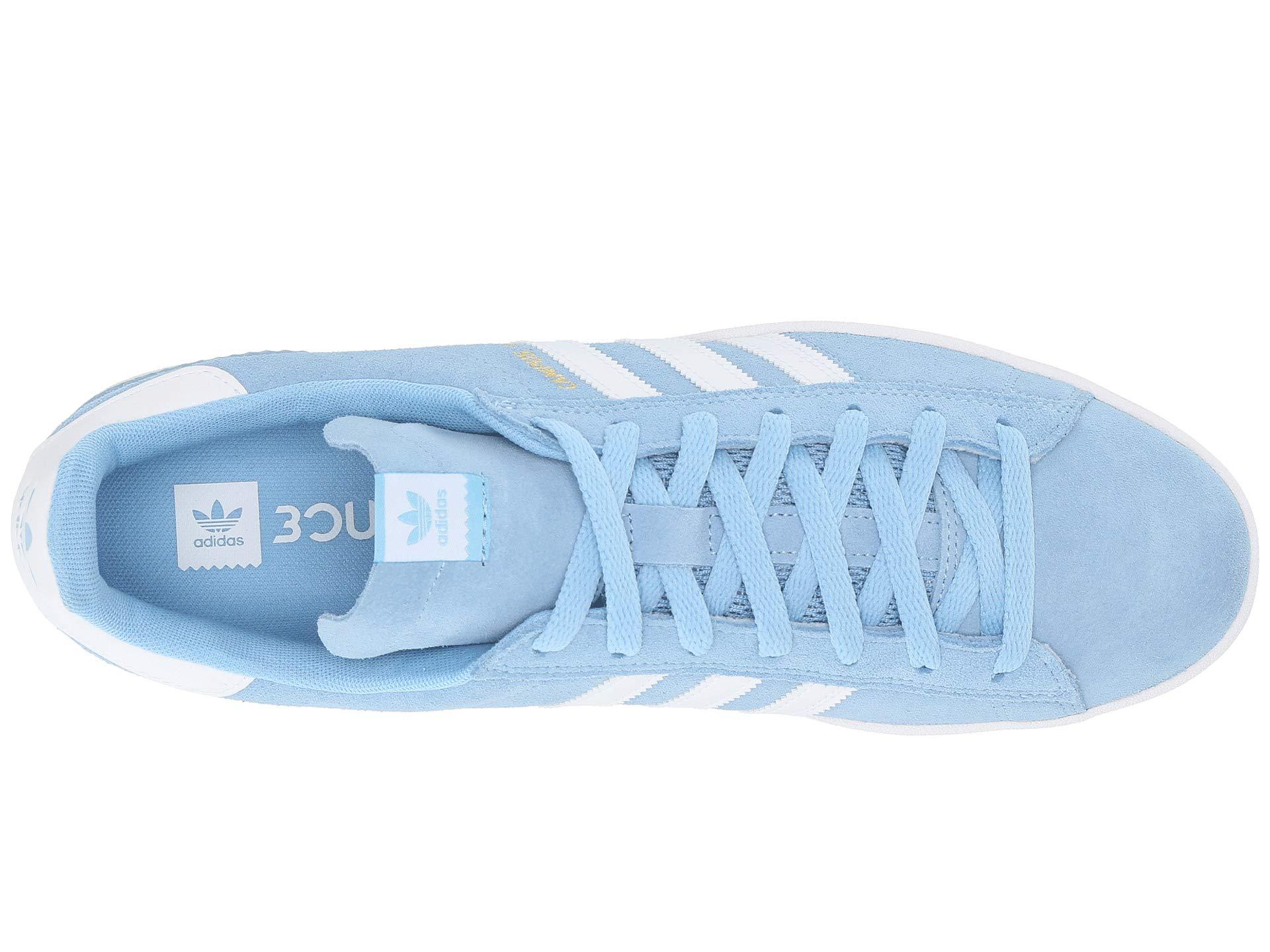 white Blue white Clear Skateboarding Adidas Adv Campus 4wqT1RT