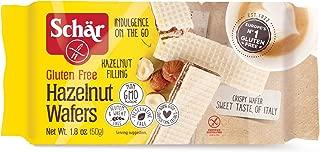 Schär Gluten Free Hazelnut Wafers, 1.8 oz., 20-Pack