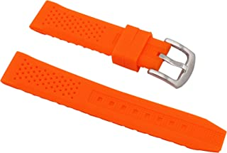 Fashion Sports Watches Silicone Bands Perforated Watch Bracelet Rubber Replacement