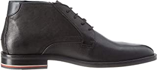 Tommy Hilfiger Signature Hilfiger Leather, Men Boots