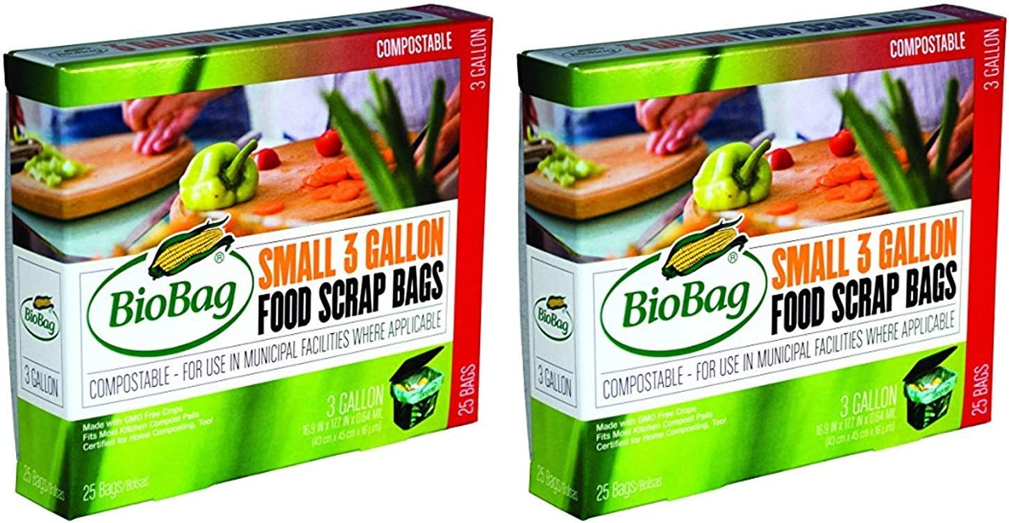 Biobag Food Waste Bags 3 Gallon Surprise price Of Count Pack 2 Recommended 25