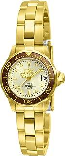 Invicta Women's 12527 Pro-Diver 18k Gold Ion-Plated...