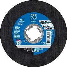 PFERD 分隔盘 125 x 1.0 毫米 SG STEELOX, X-LOCK - 捕捉(22.23 毫米),25 件 - 快速舒适的更换工具