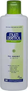 Multidermol Gel Avena - Pieles Sensibles, Ph Neutro, Calma y Suaviza, Avena al 100%, 750 ml