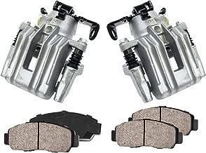 CCK11094 [2] REAR Premium Loaded OE Caliper Assembly Set + Quiet Low Dust Ceramic Brake Pads