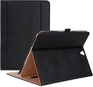 Procase Galaxy Tab S3 9.7 Case, Stand Folio Case Cover for Galaxy Tab S3 Tablet (9.7 Inch, SM-T820 T825), with Multiple Viewing Angles, Document Card Pocket - Black