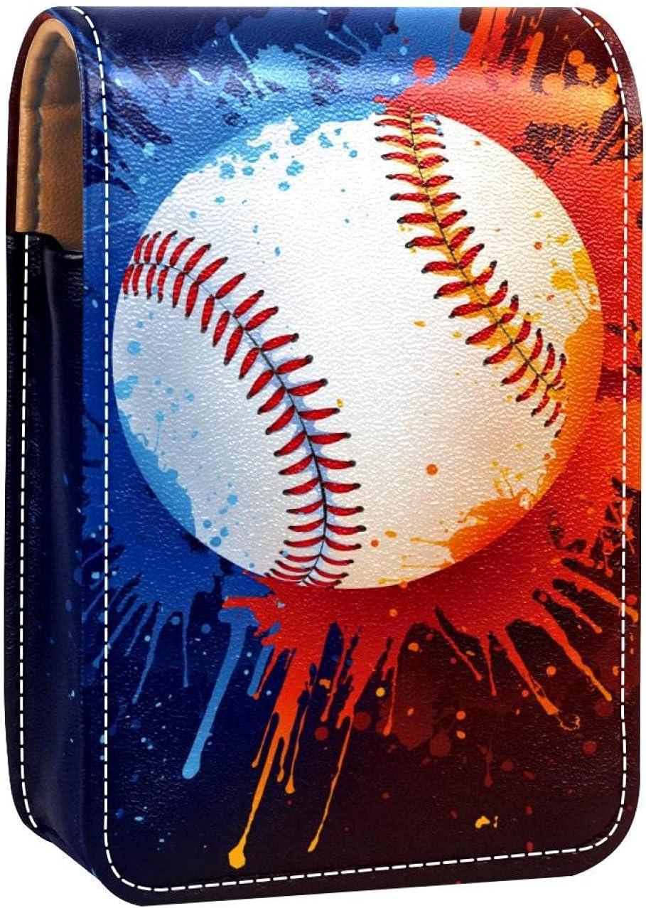 Sport Baseball Art Lip Gloss Case Makeu Dealing full price reduction Ranking TOP12 Holder Portable Lipstick